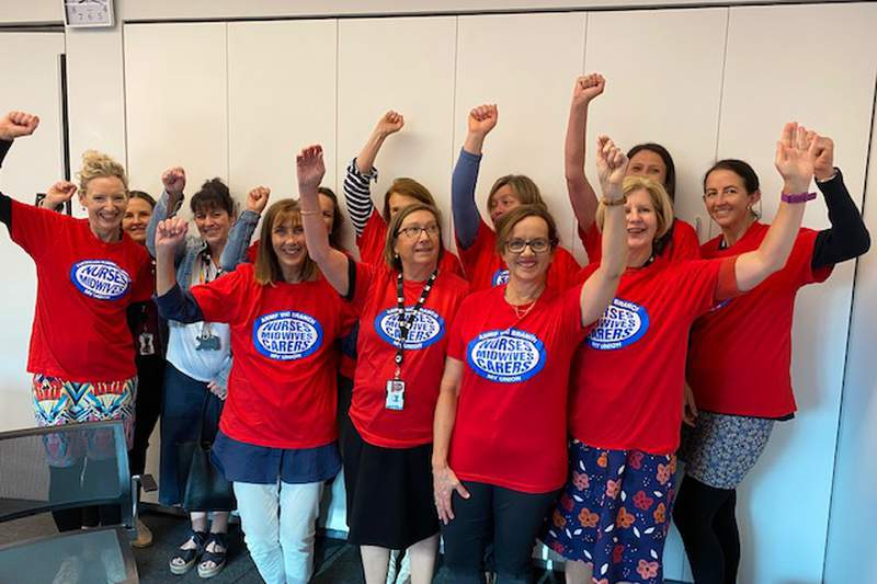City of Melbourne nurses taking protected industrial action