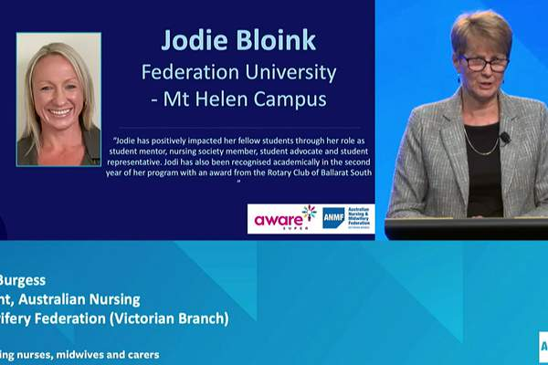 2020 student nurses and midwives awarded for excellence