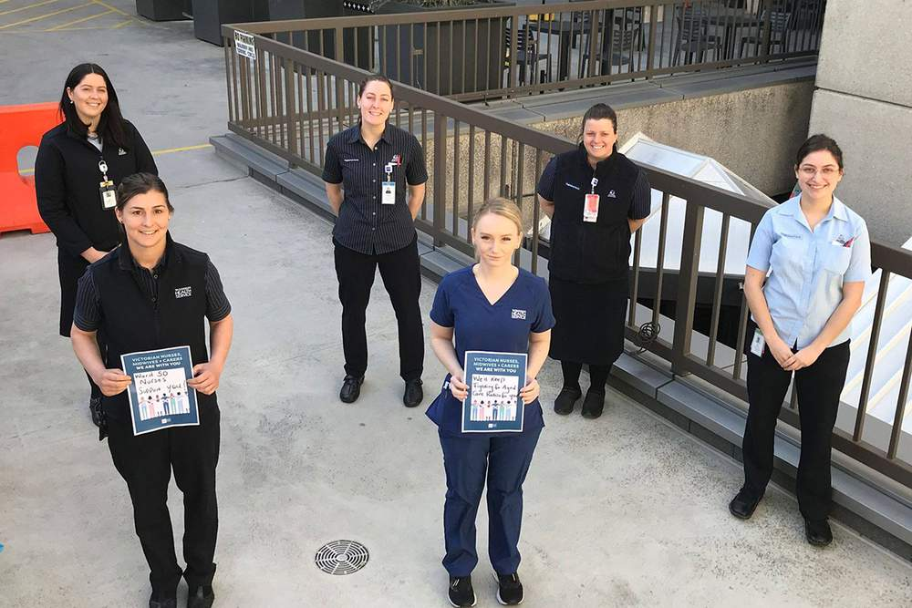 Interstate and territory nurses and midwives stand in solidarity with Victoria
