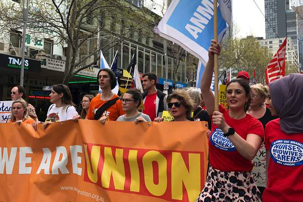 Our Branch joins 100,000 Melbourne climate strikers