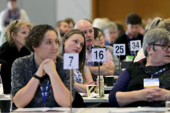 2017 Delegates Conference. Photographs by Angela Wylie.