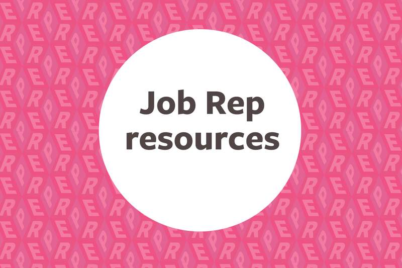 New Reps resources section on Branch website