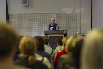 Image from Day 1 of the 2017 ANMConference, held at the MCEC. Photograph by Chris Hopkins