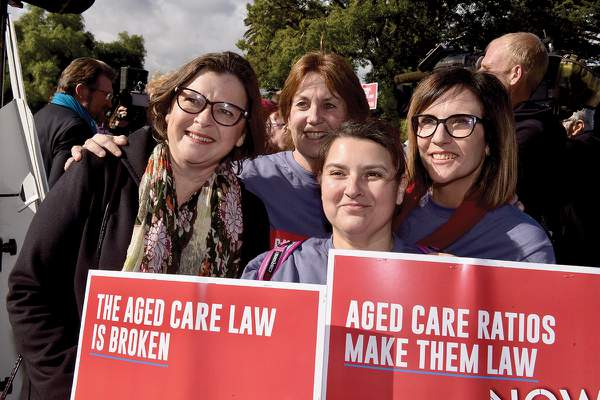 Aged care campaign launch