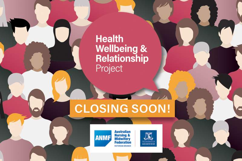 Participate in our Health, Wellbeing and Relationships survey