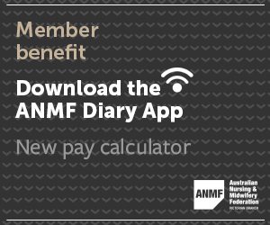 Download the ANMF Diary App mrec advertisement