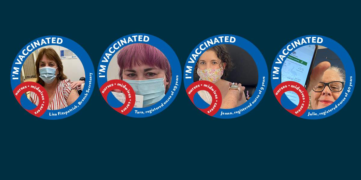 Vaccinated? Join our 'I'm vaccinated because' selfie and video campaign