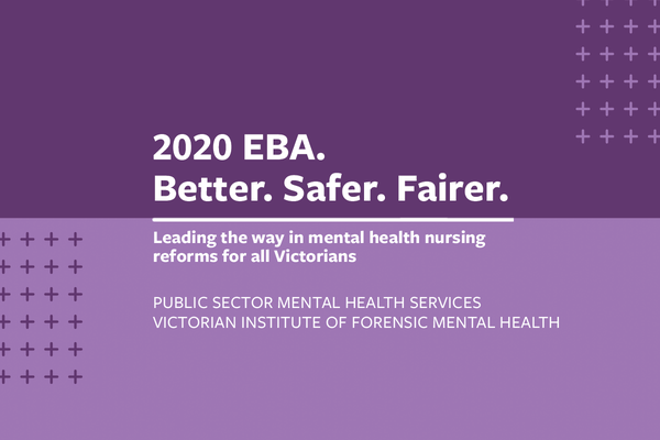 EBA update 7: Public sector mental health services negotiations continue
