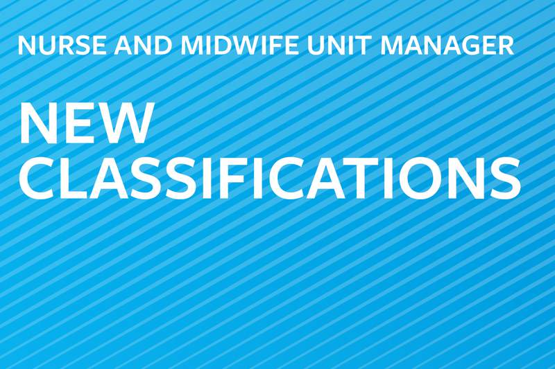 New NUM/MUM classifications