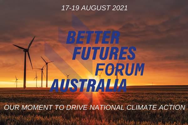 2021 online Better Futures Forum