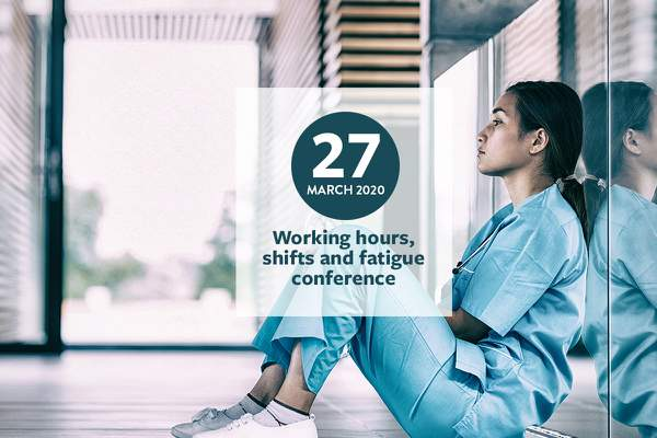 Early bird prices for 'Working hours, shifts and fatigue conference' end soon