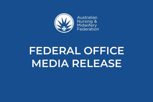 ANMF welcomes Opposition's pledge for action in aged care