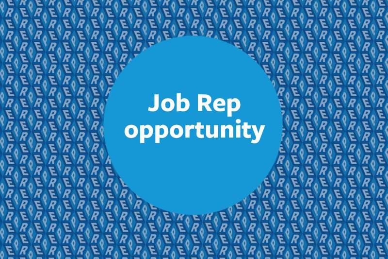 Belinda Morieson Program for Job Reps open