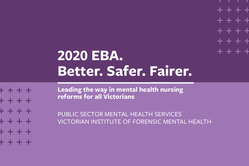EBA update 6: Public sector mental health services negotiations continue