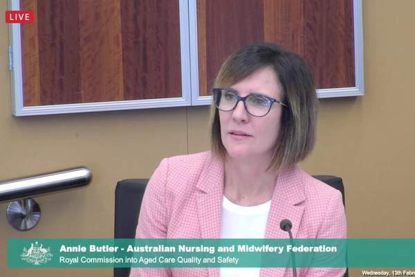 Annie Butler gives evidence to Royal Commission