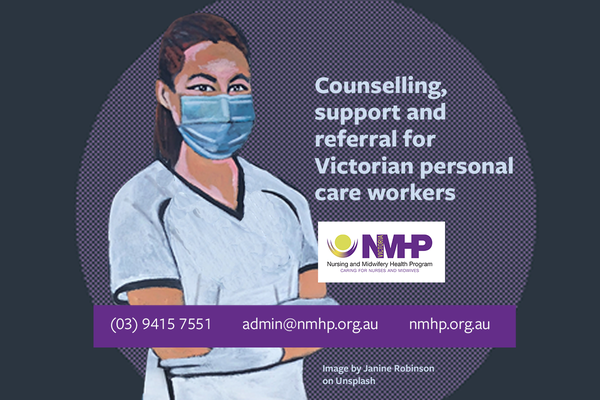 NMHPV support now available to personal care workers